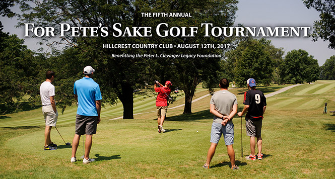 For Pete's Sake Golf Tournament 2017
