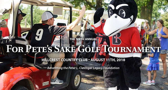 For Pete's Sake Golf Tournament 2018